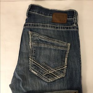 BKE Jake Distressed Bootcut Jeans Sz 32L (32x33)
